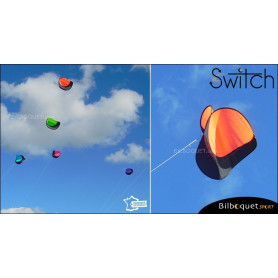 Switch - Cerf-volant monofil pilotable - ORANGE
