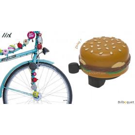 Sonnette de vélo Hamburger - Liix Funny Bell
