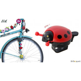 Sonnette de vélo Coccinelle - Liix Funny Bell