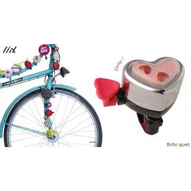 Sonnette de vélo en forme de Coeur - Liix Funny Bell