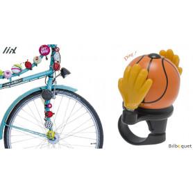 Sonnette de vélo Ballon de basket - Liix Funny Bell