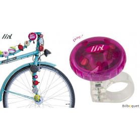 Sonnette de vélo rose Tokyo - Liix Funny Bell