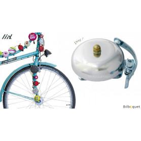 Sonnette de vélo Vintage Argent - Liix Funny Bell