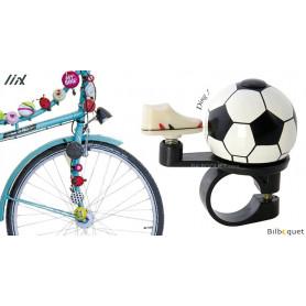 Sonnette de vélo Ballon de foot - Liix Funny Bell