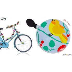 Sonnette de vélo Petit Oiseau - Liix Ding Dong Bell Ø80mm