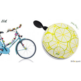 Sonnette de vélo Citrons - Liix Ding Dong Bell Ø80mm