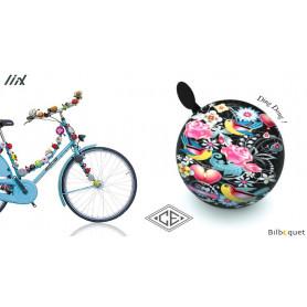 Sonnette de vélo Collage Catalina Estrada - Liix Ding Dong Bell Ø80mm