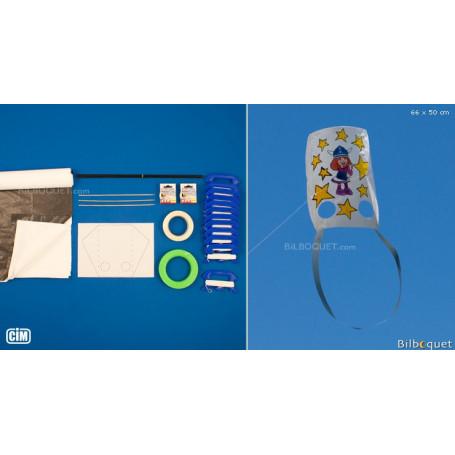 Kit de fabrication pour 12 Cerfs-volants Luges