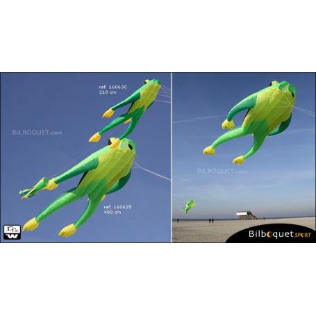 Monofil Fritz XL la grenouille Cerf-volant 480cm