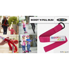Scoot'N Pull - Rose - Accessoire pour trottinette Mini Micro