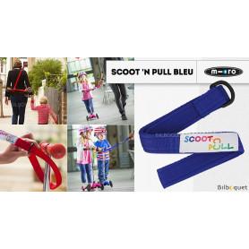 Scoot'N Pull - Bleu - Accessoire pour trottinette Mini Micro