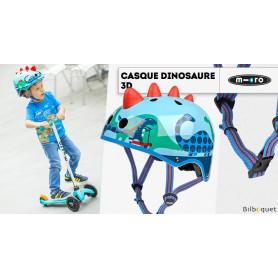 Casque enfant Dinosaure 3D - Taille S