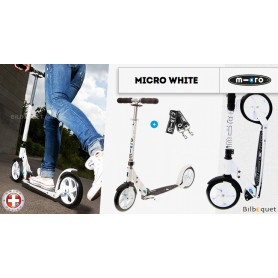 Trottinette Micro White - Adulte