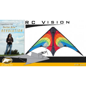 Vision Vector Kite 840 Series - Rainbow Vortex