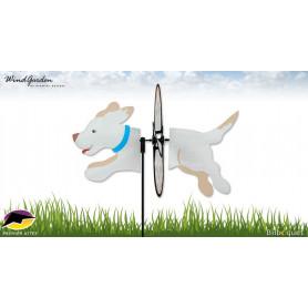 Chien Labrador Retriever 48cm - Petite éolienne d'extérieur