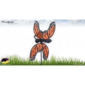 Éolienne d'extérieur WhirliGig Papillon Monarch 50cm