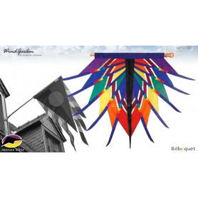 Drapeau Aten 187x132cm - Progressive Banner Rainbow par David Ti