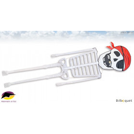 Squelette Pirate 396cm - Cerf-volant monofil par Daryl Yeh