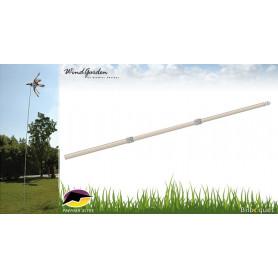 Mât télescopique 420cm pour éolienne de jardin