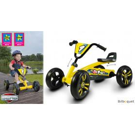 Kart à pédales Buzzy Jaune (2-5 ans)
