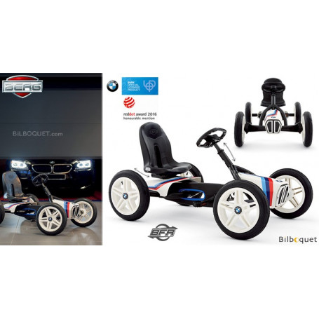 Kart à pédales BMW Street Racer (3-8 ans)