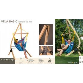 VELA Basic - Support en bois pour Chaise-Hamac