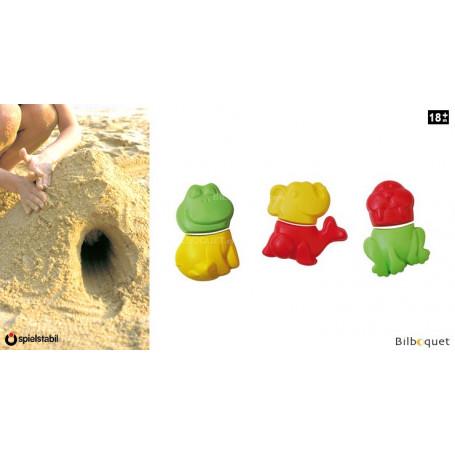 Moules à sable - Animaux loufoques