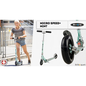 Trottinette Micro Speed+ Mint - Ados/Adultes
