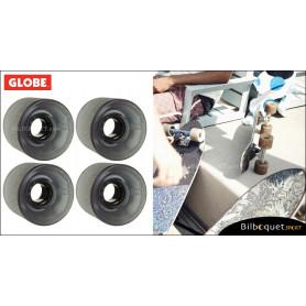 Globe BANTAM - Clear Black - Ø62mm/83a - Set de 4 roues pour longboard