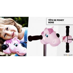 Tête de Poney rose - Accessoire pour trottinette Micro Mini/Maxi