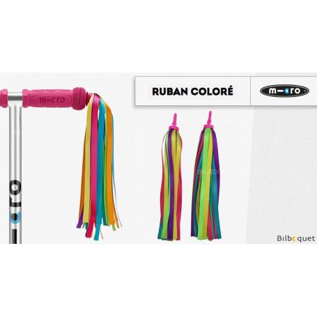 Rubans colorés - Accessoire pour trottinette Mini