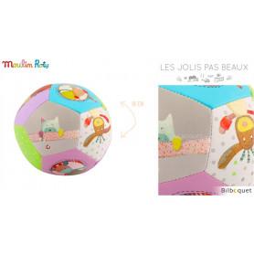 Ballon souple Ø10cm - Les Jolis pas Beaux