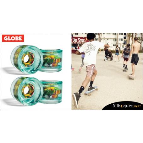 Globe G-ICON - Clearwater - Ø62mm/78a - Set de 4 roues pour longboard