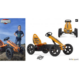 Kart à pédales BERG Rally Orange BFR (4-12 ans)
