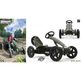Kart à pédales BERG Jeep® Adventure BFR (4-12 ans)