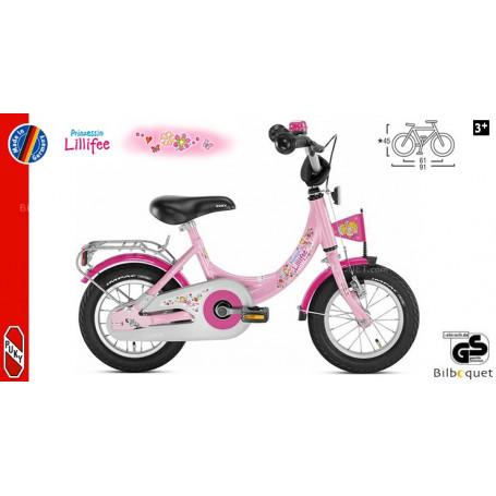 Vélo enfant Puky ZL 12-1 Alu (12 pouces) - Rose Lillifee