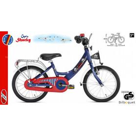 Vélo enfant Puky ZL 16 Alu (16 pouces) - Bleu Capt'n Sharky