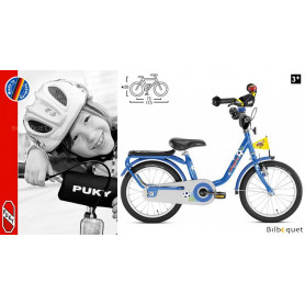 Vélo enfant Puky Z6 (16 pouces) - Bleu