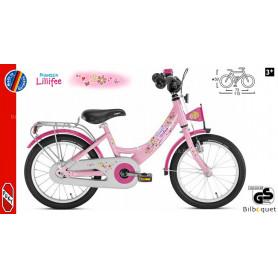 Vélo enfant Puky ZL 16 Alu (16 pouces) - Rose Lillifee