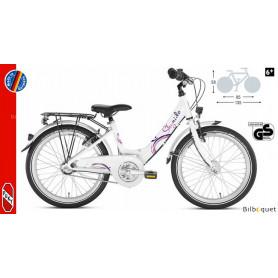 Vélo enfant Puky Skyride 20-3 Alu (20 pouces) - Blanc