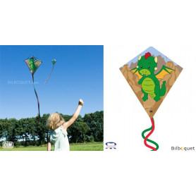 Monofil Eddy-S Dragon 50x56cm - Cerf-volant enfant