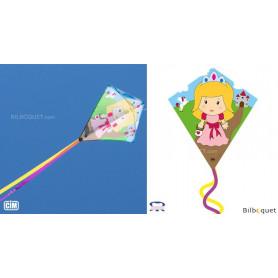 Monofil Eddy-S Princesse 50x56cm - Cerf-volant enfant