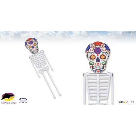 Squelette Dia De Los Meurtos 396cm - Cerf-volant monofil par Daryl Yeh