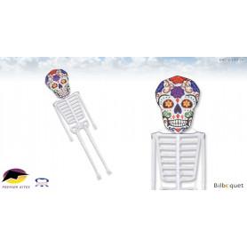Squelette Dia De Los Meurtos 640cm - Cerf-volant monofil par Daryl Yeh