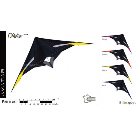 Avatar - Cerf-volant pour le vol en paire ou en team