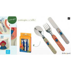 Set de 3 couverts - Vaisselle pour les enfants - Paddington - Petit Jour Paris