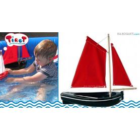 Barque à coque noire ref. 206