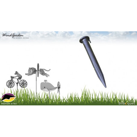Piquet support pour éolienne de jardin Ø9