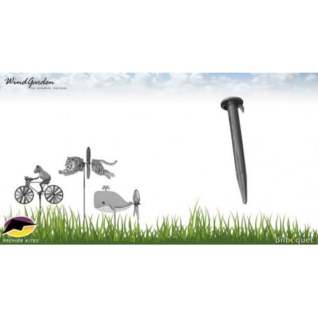 Piquet support pour éolienne de jardin Ø12