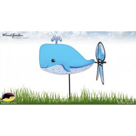Baleine 42cm - Petite éolienne pour le jardin